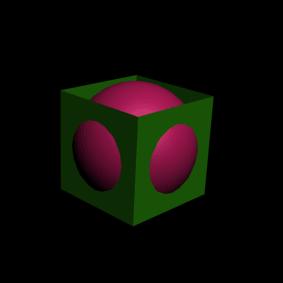 Рис. 12. Шар и куб