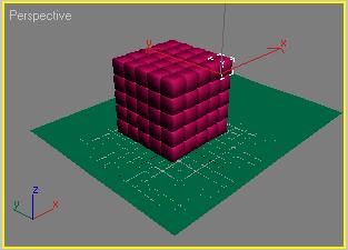 Рис. 14. Трехмерный массив кубиков