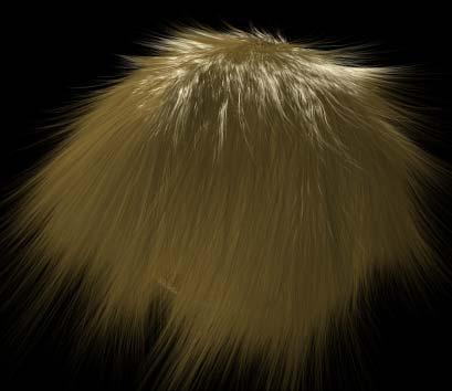 Рис. 18. Вид растрепанных волос