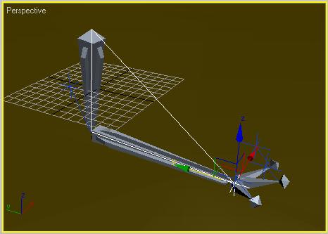 Рис. 21. Перемещение цепи IK Chain01