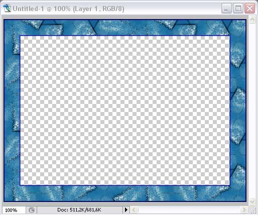 Рис. 27. Вид созданной рамки в окне графического редактора