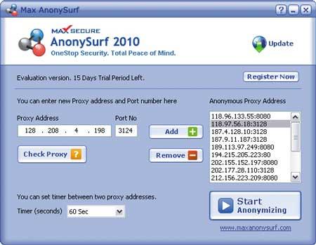 анонимный ip адрес