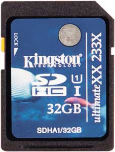 Kingston SDHC UltimateXX