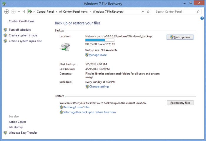 бэкап системы Windows 7 - фото 6