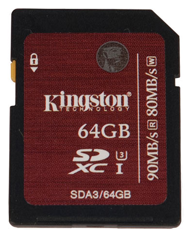 Kingston для профессионалов — SDA3/64Gb