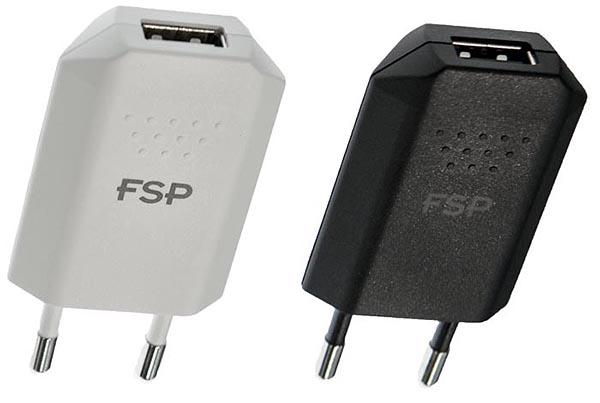 Компактные адаптеры мощностью 10 Вт с одним  выходом USB