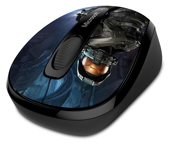 Microsoft Wireless Mobile Mouse 3500 Halo Limited Edition: The Master Chief