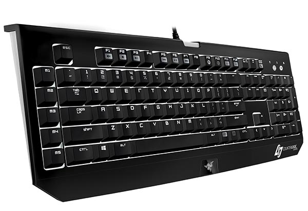 Razer Counter Logic Gaming BlackWidow Ultimate Stealth