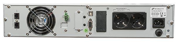Задняя панель корпуса ИБП