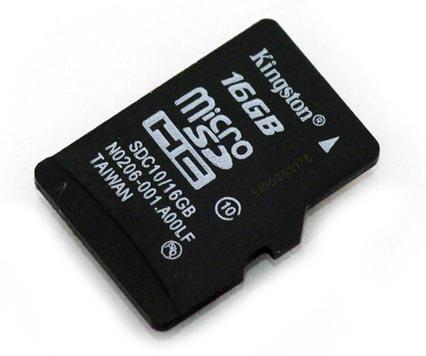 Карточка microSD (Trans Flash)