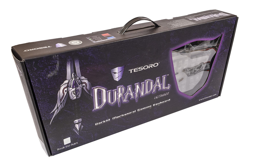 клавиатура Tesoro Durandal Ultimate