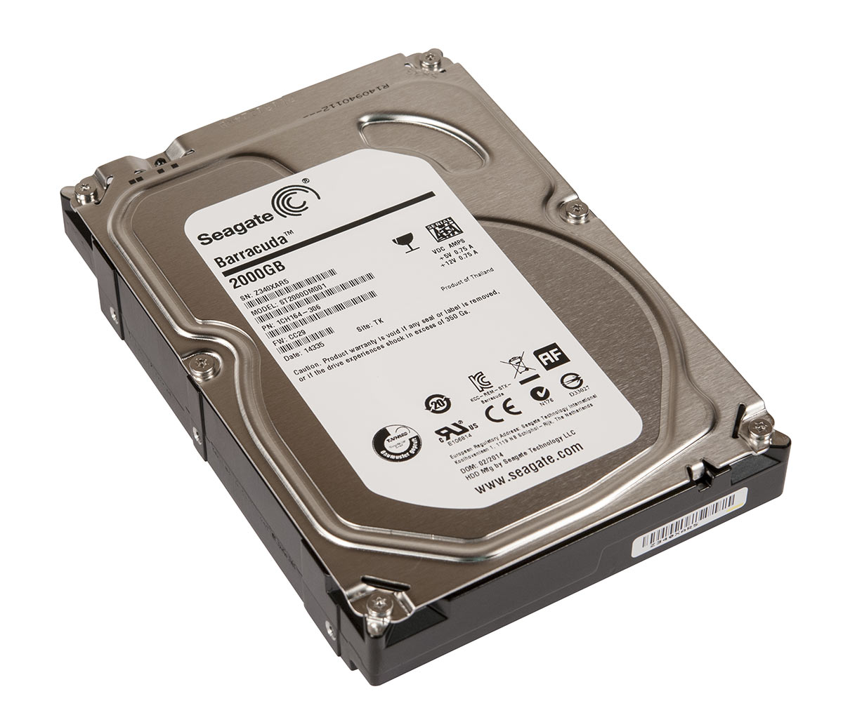 ST2000DM001 (Seagate Barracuda)