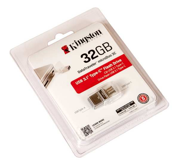 Kingston DataTraveler microDuo 3C USB-накопитель