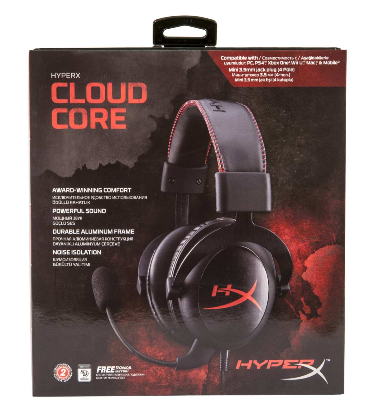 наушники Kingston HyperX Cloud Core