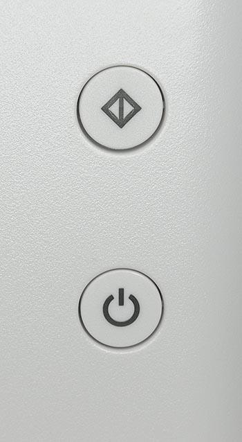 Кнопки на передней панели МФУ