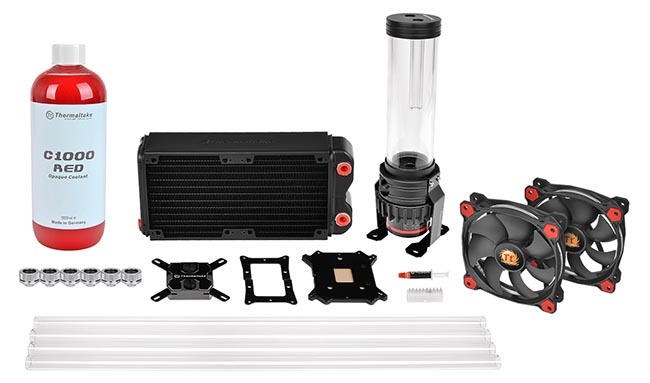 Комплект Pacific RL240 D5 Hard Tube Water Cooling Kit