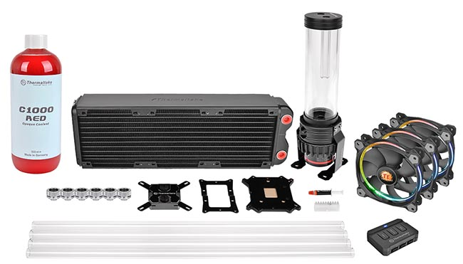 Комплект Pacific RL360 Hard Tube D5 RGB Water Cooling Kit