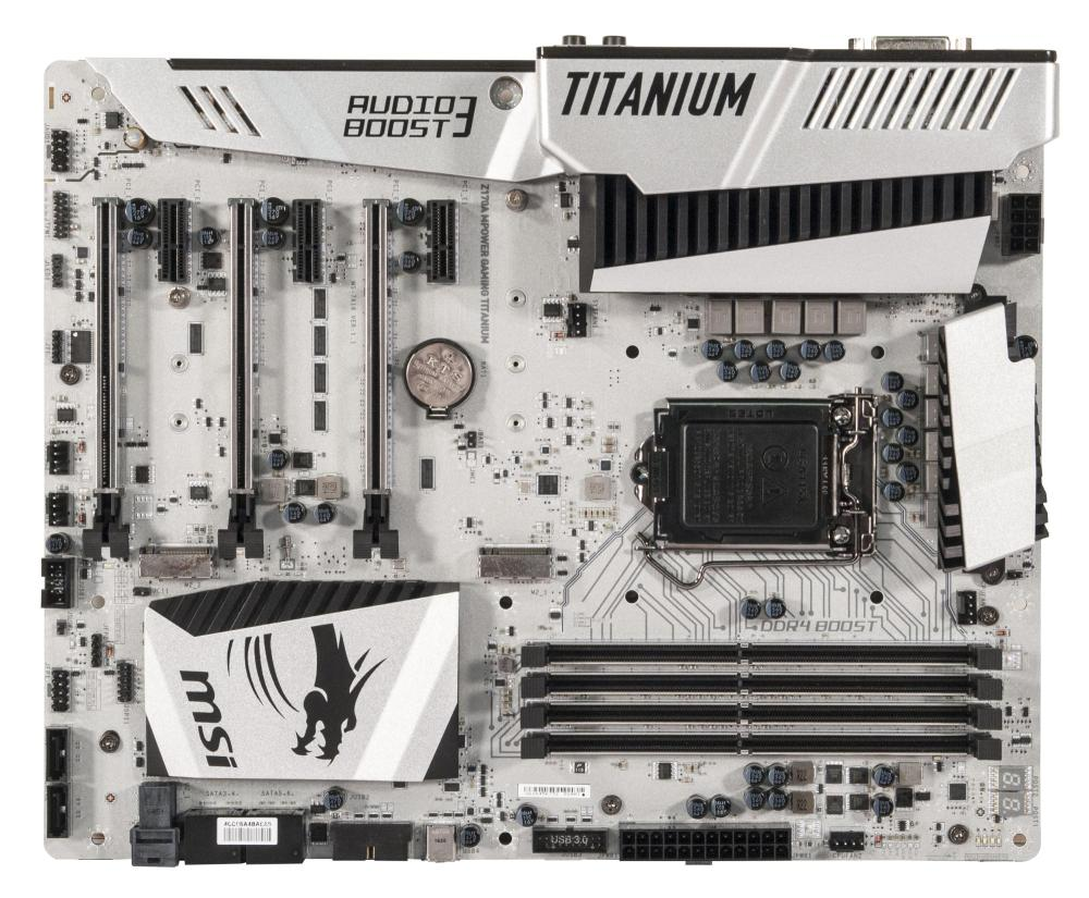 Системная плата MSI Z170A MPOWER GAMING TITANIUM