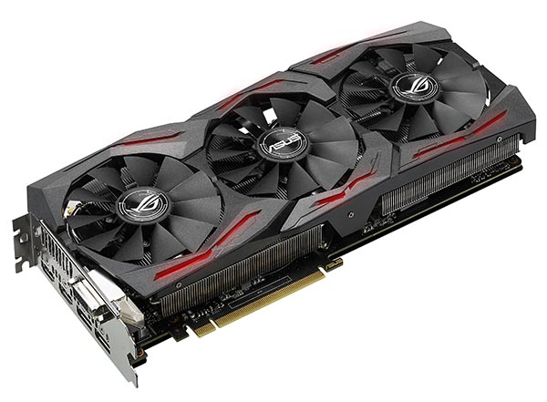 Видеокарта ROG Strix GeForce GTX 1060