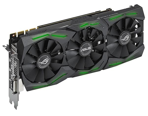 Видеокарта ROG Strix GeForce GTX 1070