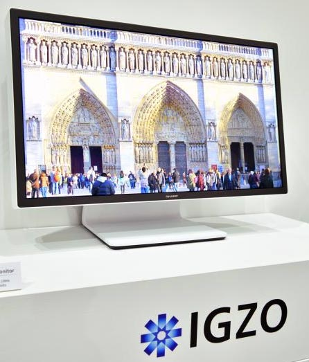 Sharp IGZO 8K monitor