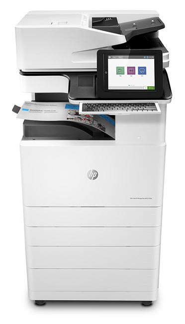 HP Color LaserJet Managed Flow MFP E77830