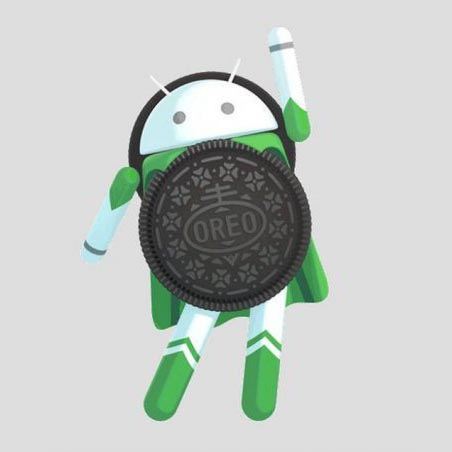 Android 8 logo