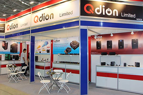 Qdion booth
