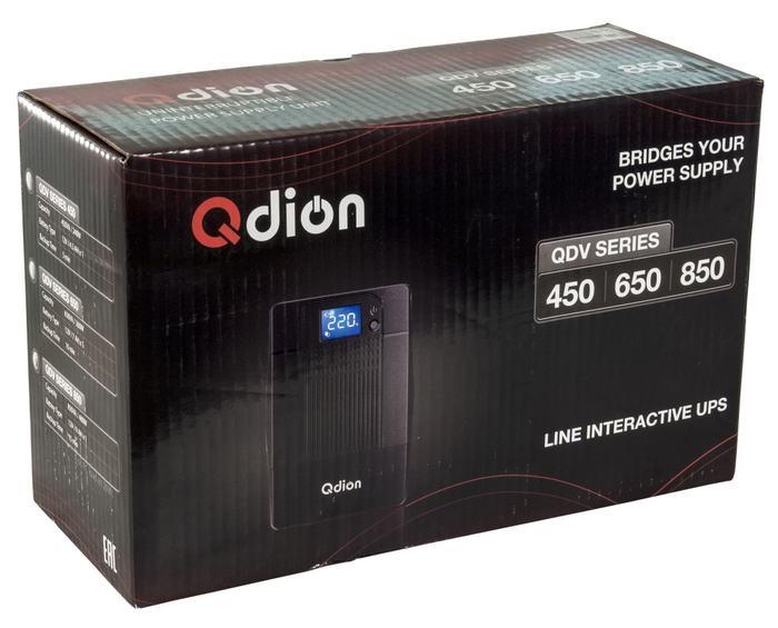 Линейно-интерактивные ИБП FSP и QDION QDP650, QDV850, бюджетный, DP1000, DPV850